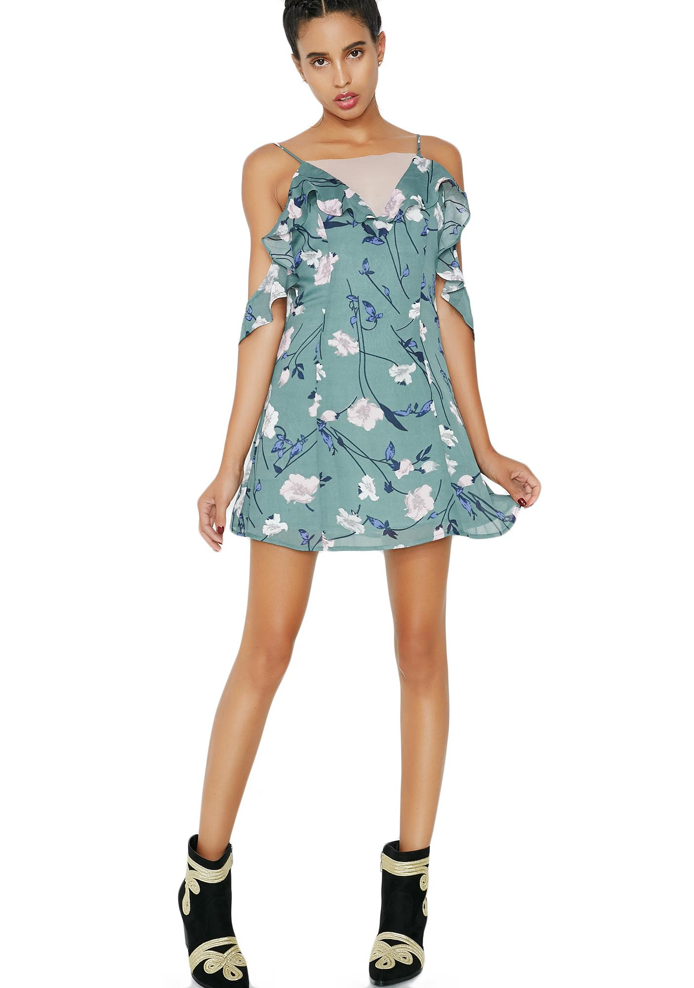 Miss Bliss Floral Mini Dress