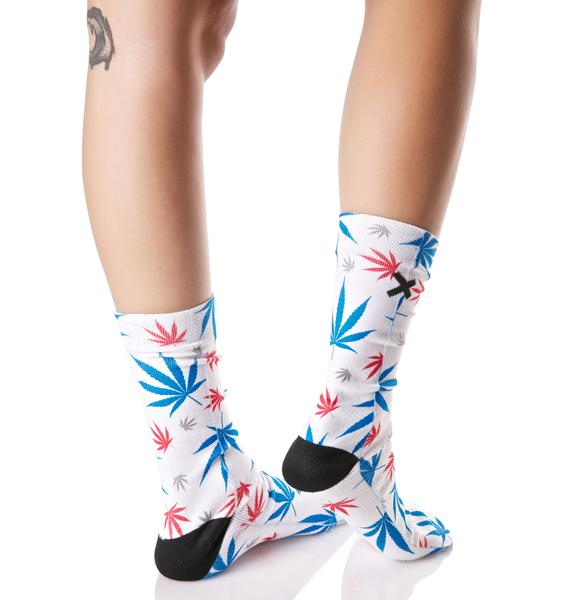 Odd Sox American Pot Socks
