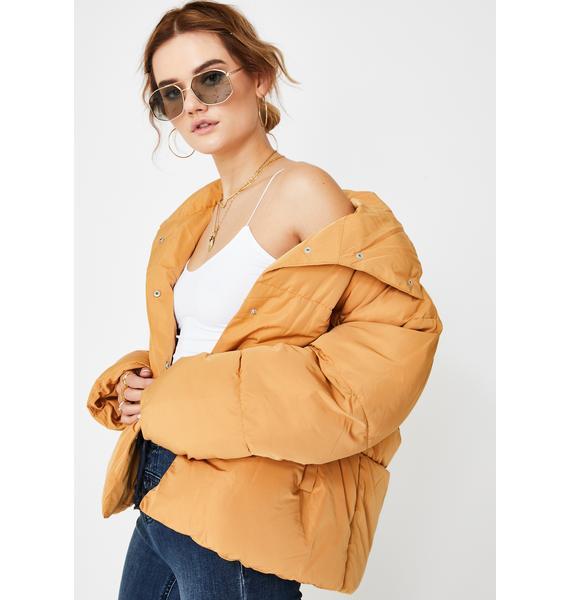 Free People Weekend Puffer Jacket
