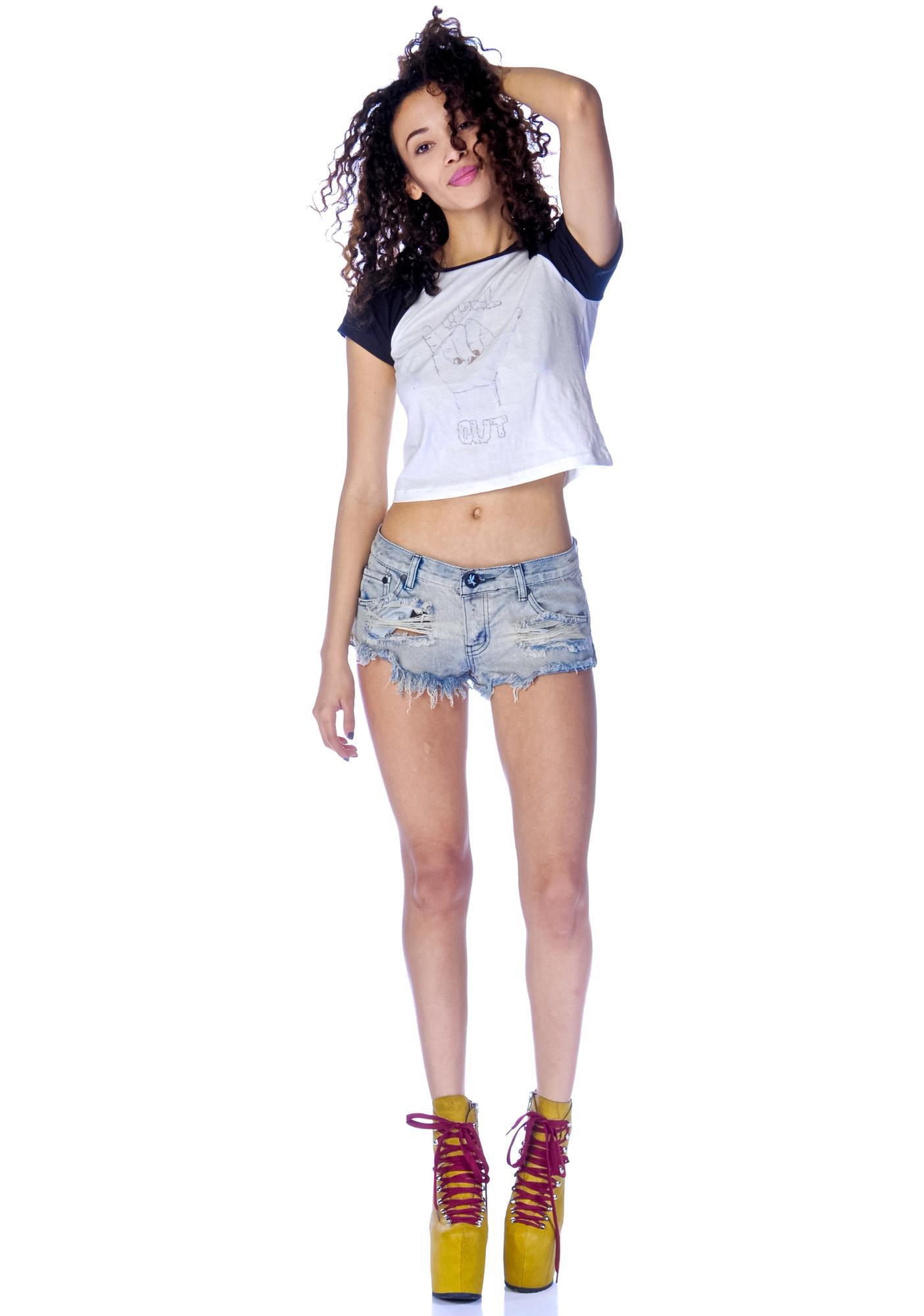 One Teaspoon Trashwhores Shorts