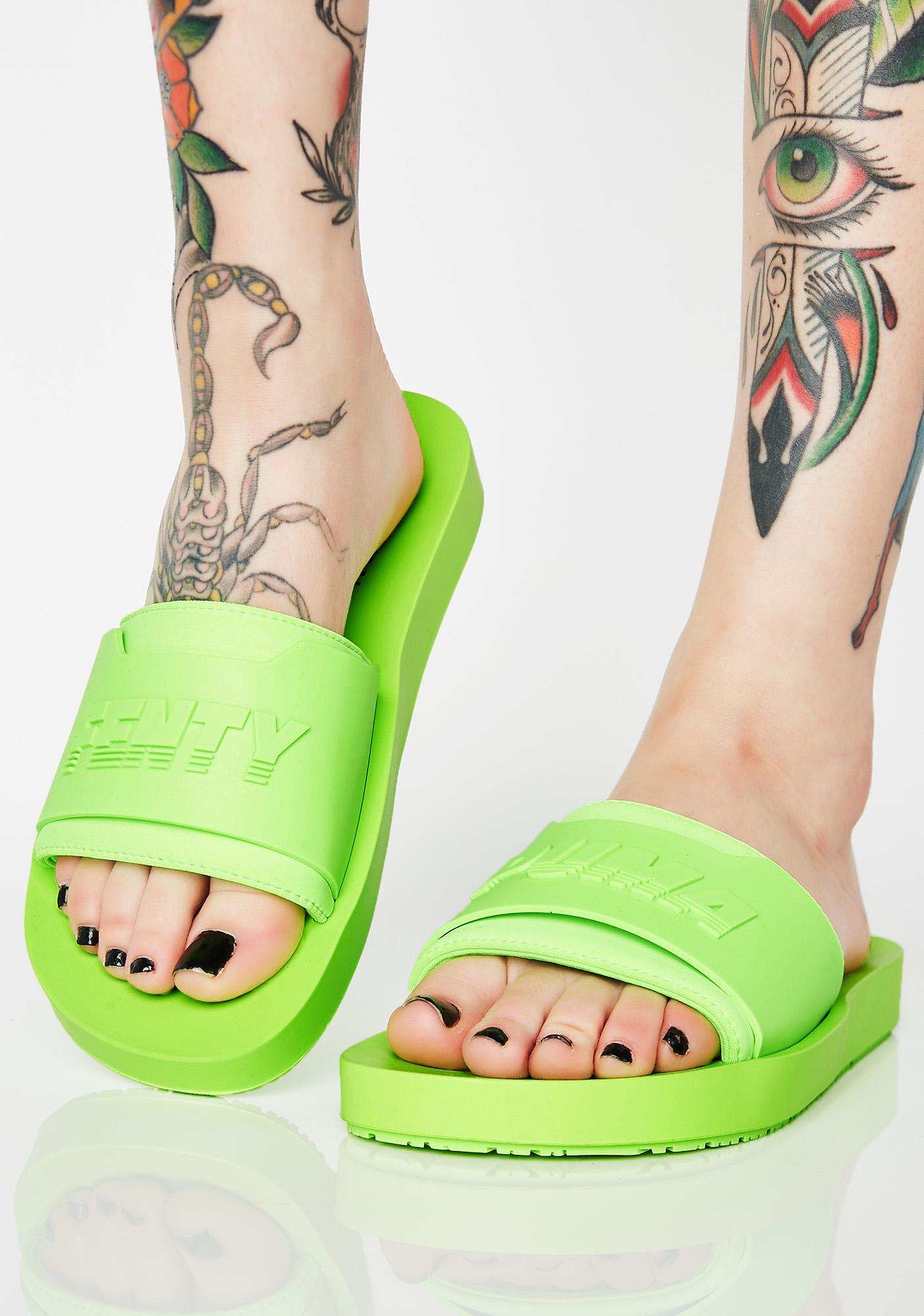 a4fa9abe67514a PUMA FENTY PUMA By Rihanna Gecko Surf Slides