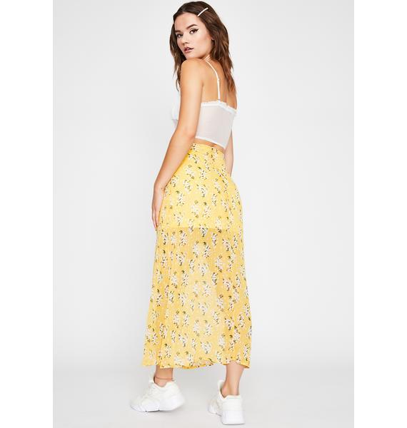 Sunny Little Darling Floral Skirt