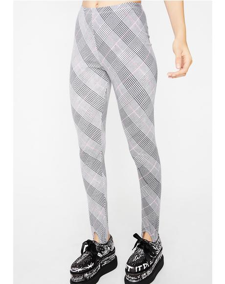 Overblown Plaid Sco Pants