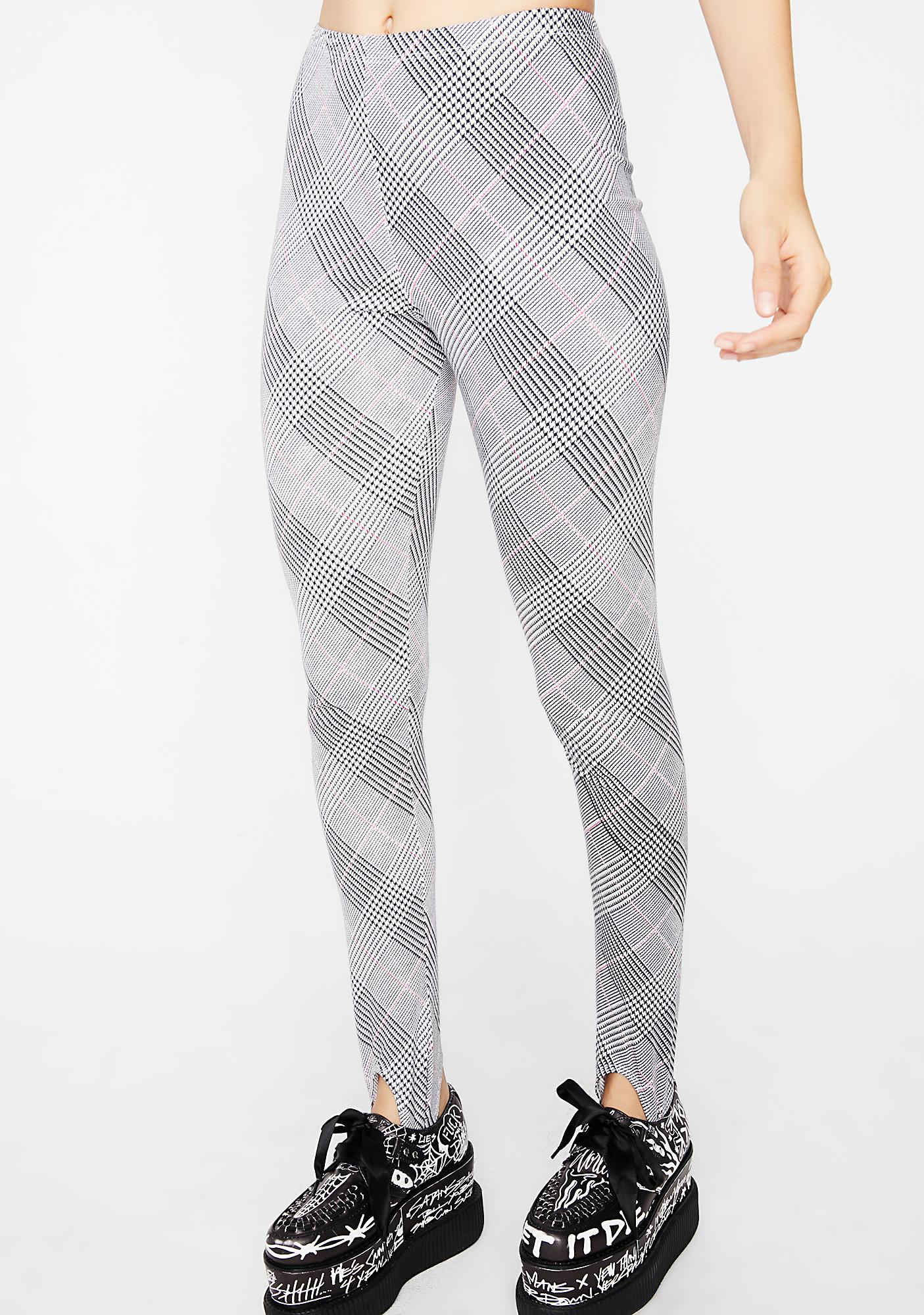 Motel Overblown Plaid Sco Pants