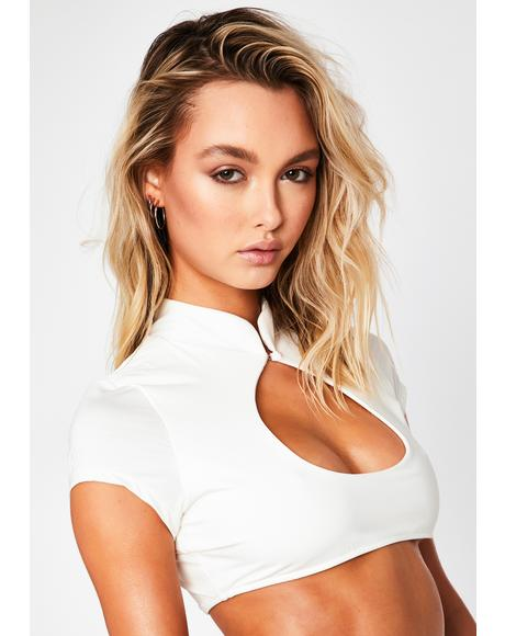 Leigh Cut Out Bikini Top