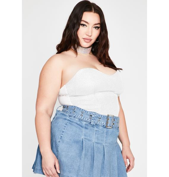 BB Diamonds Up To Here Bustier Top