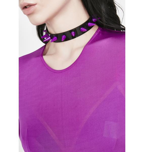Spike The Punch Choker