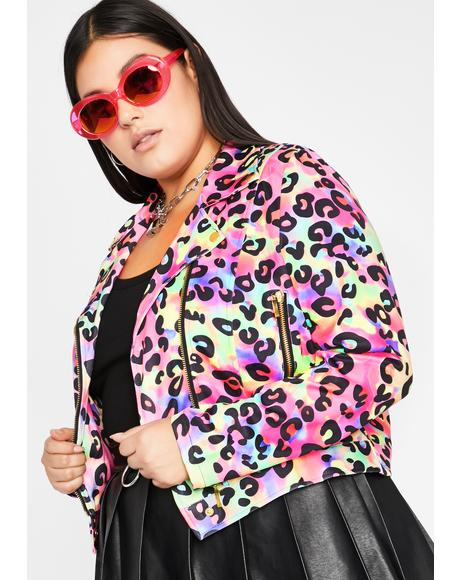 Major Glamour Kitty Moto Jacket