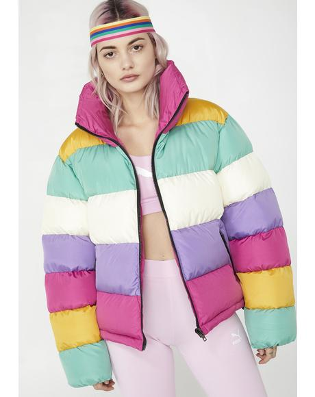 Ice Cream Dream Puffer Jacket