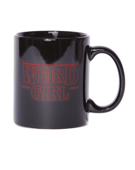 Weird Girl Coffee Mug