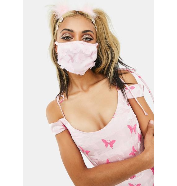 Sugar Thrillz Garden Fairy Floral Face Mask