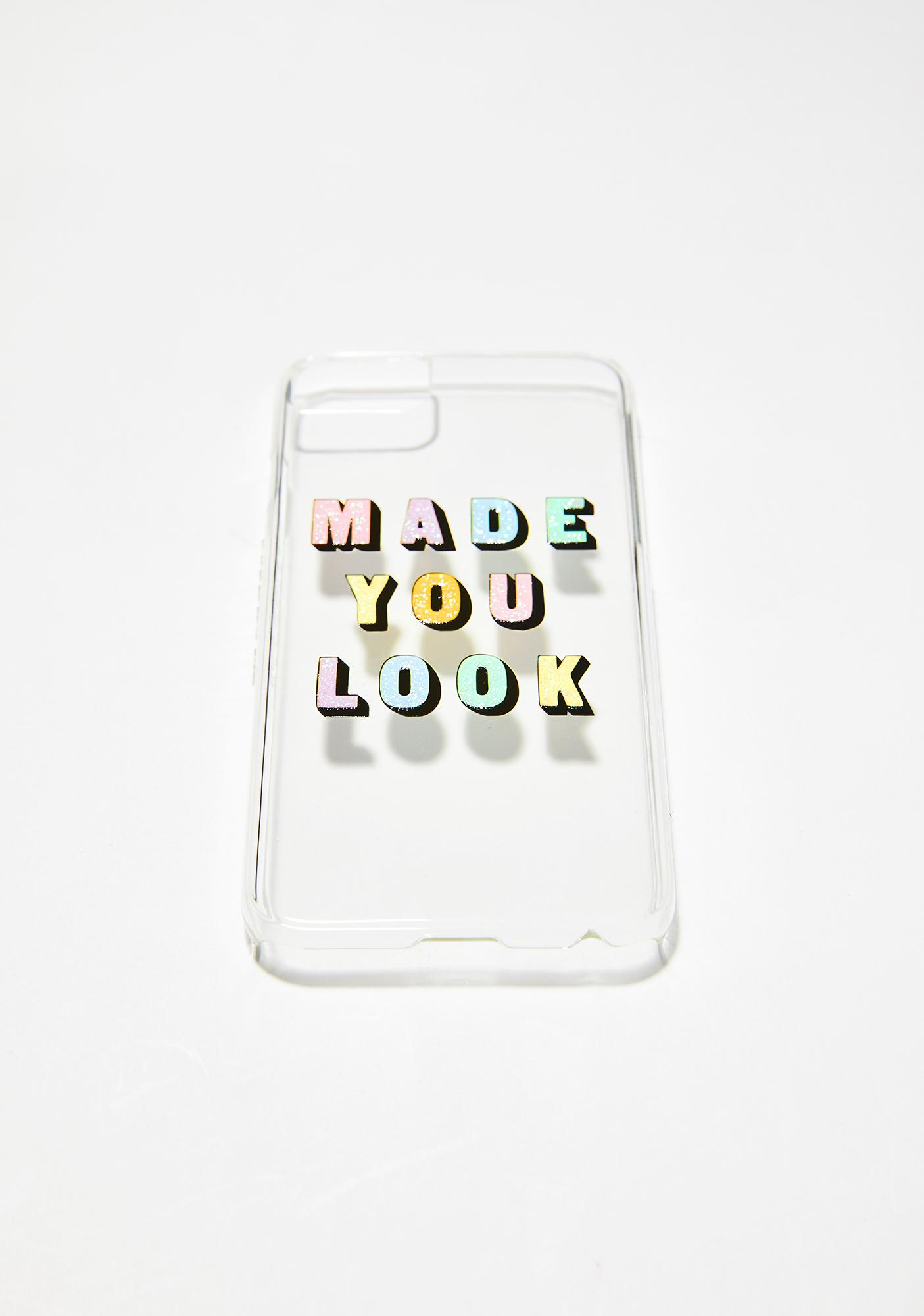 Skinnydip Made You Look iPhone Case