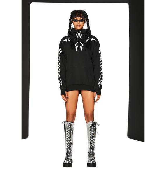 Club Exx Sensory Overload Reflective Hoodie