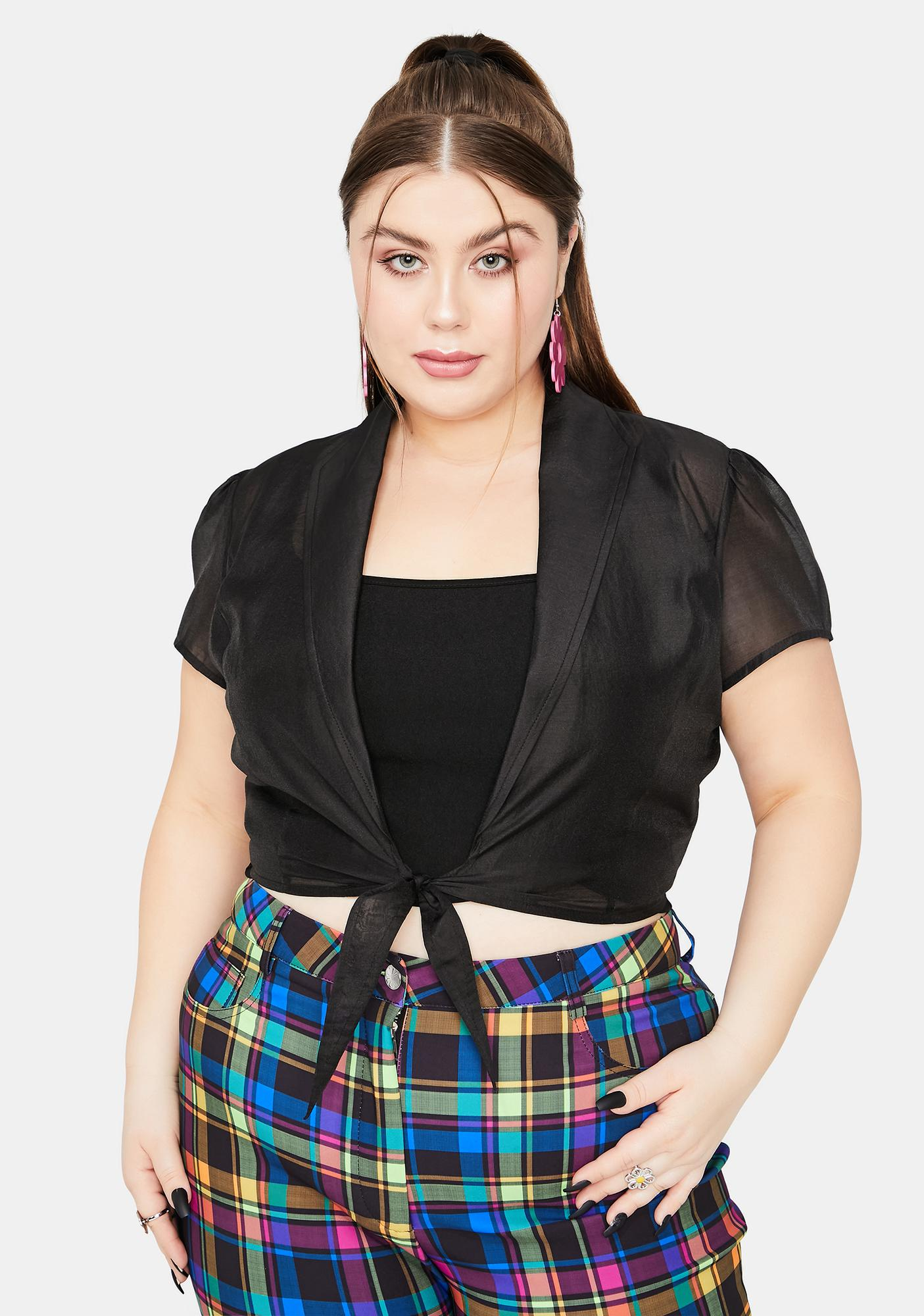 dELiA*s by Dolls Kill Always Find My Inspiration Front Tie Top Set