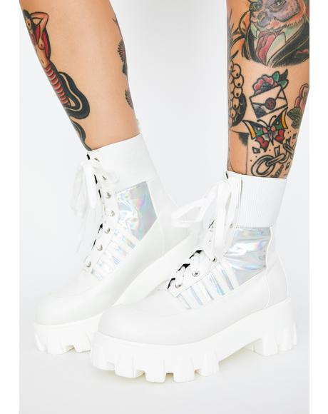 Cyber Army Combat Boots