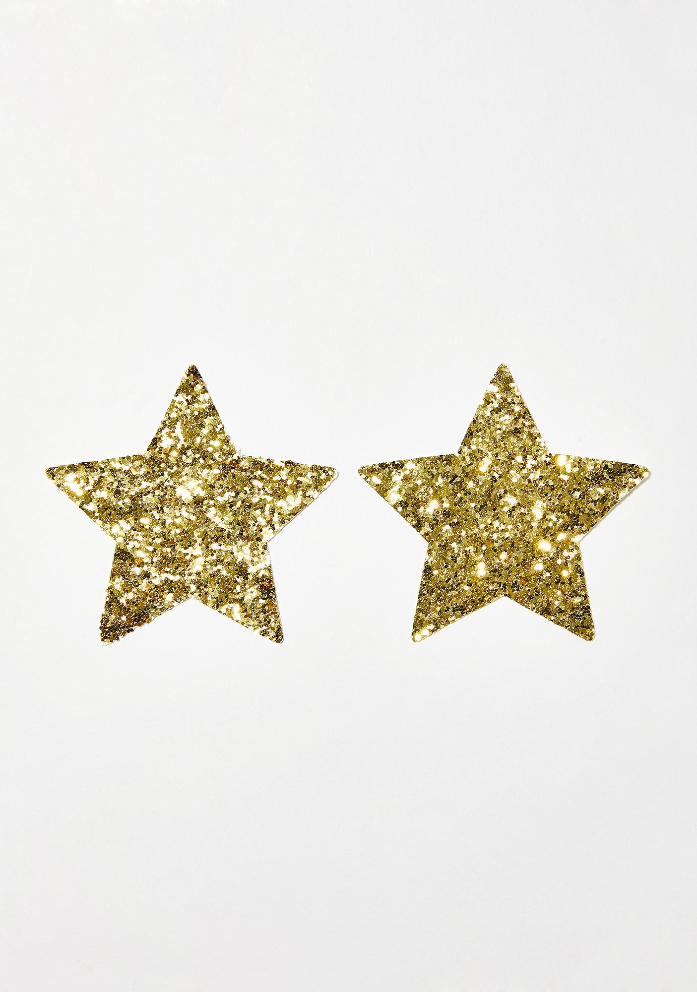 Neva Nude Super Sparkle Glitter Pasties