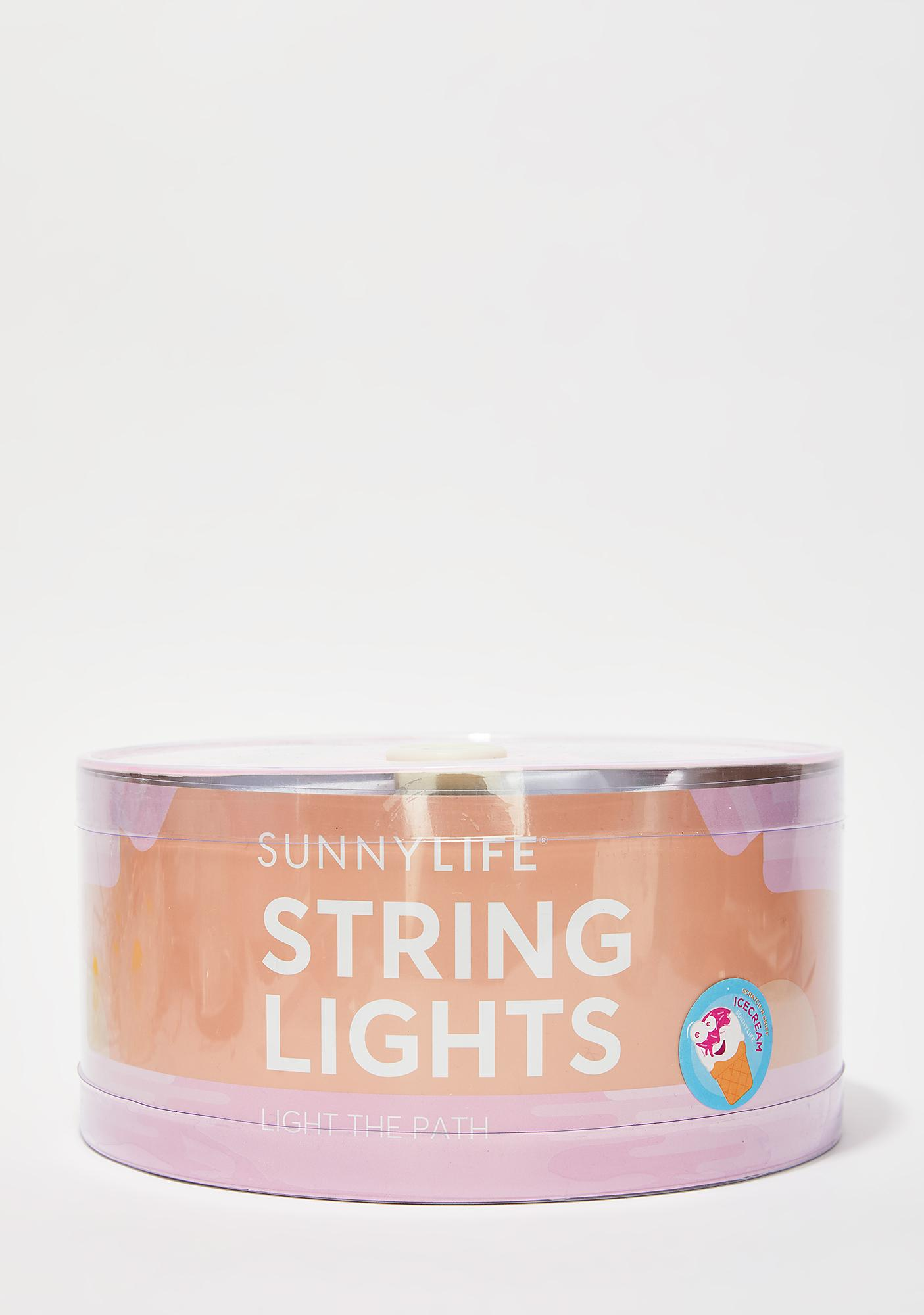 Scream For Ice Cream String Lights