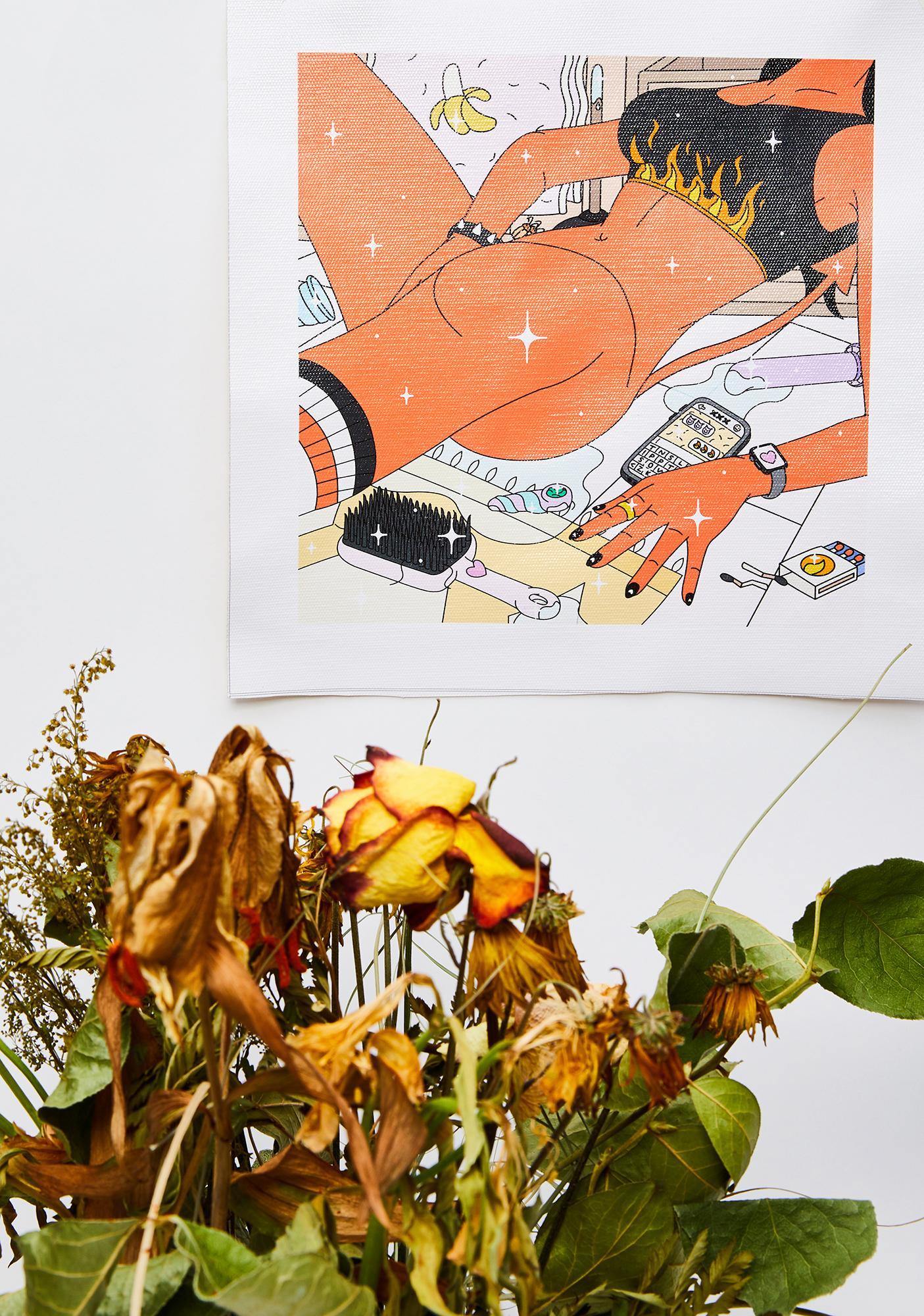 Eromatica Devil Play Art Print
