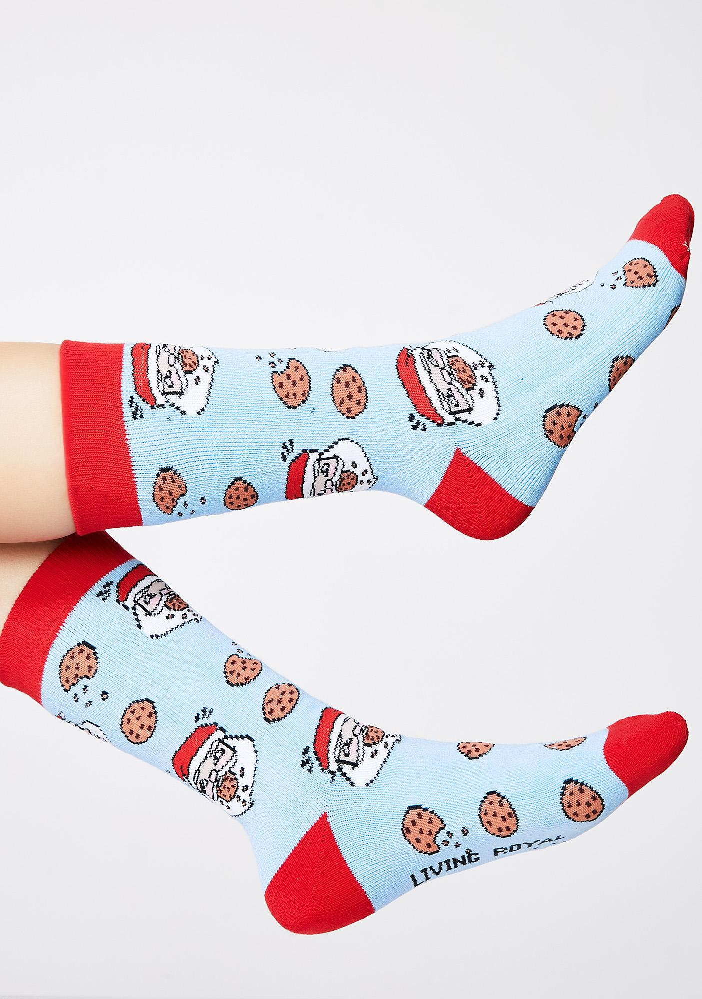 Santa Chocolate Scented Socks