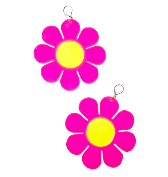 Marina Fini Flower Powerz Earrings