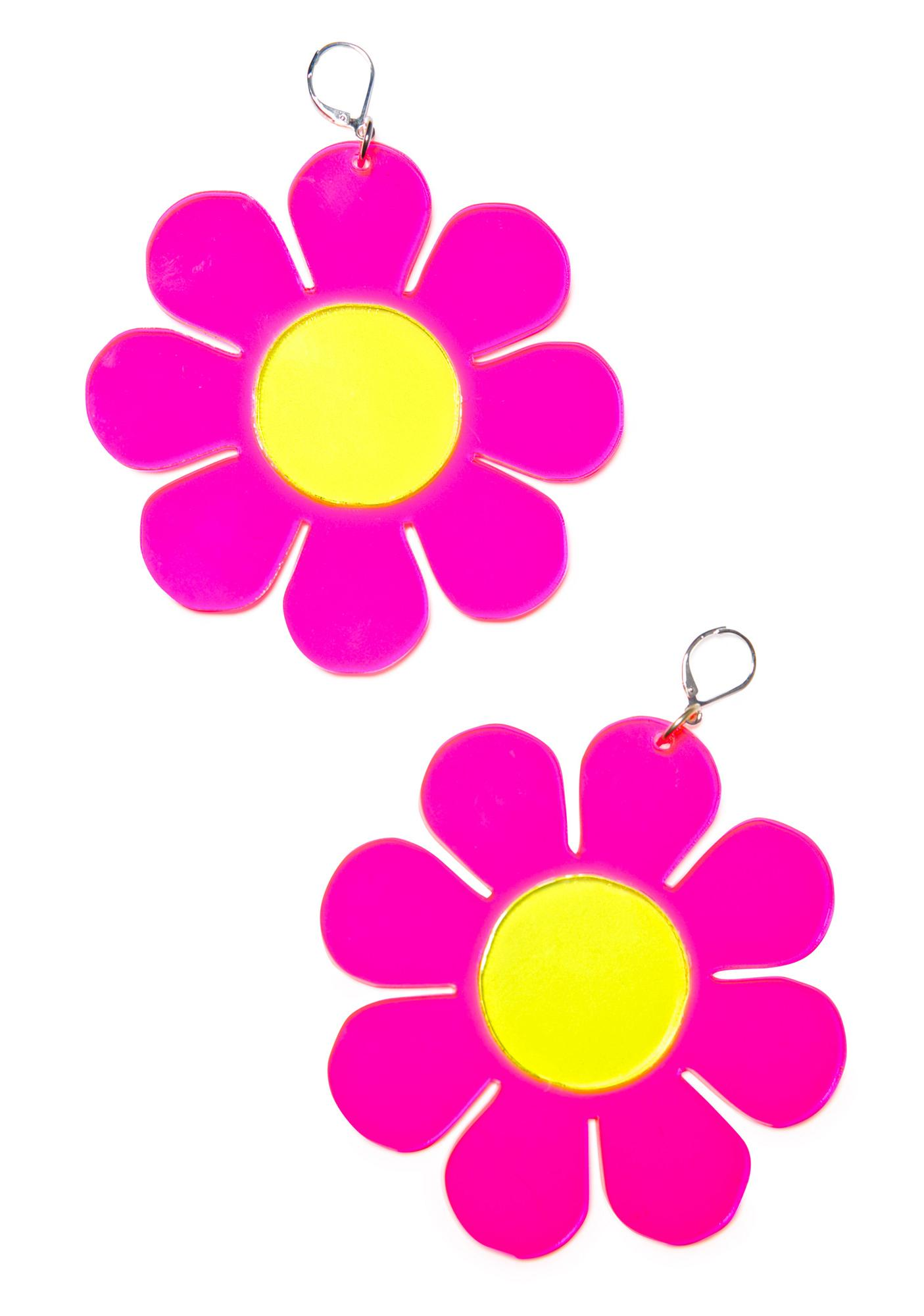 Marina Fini Flower Powerz Earrings