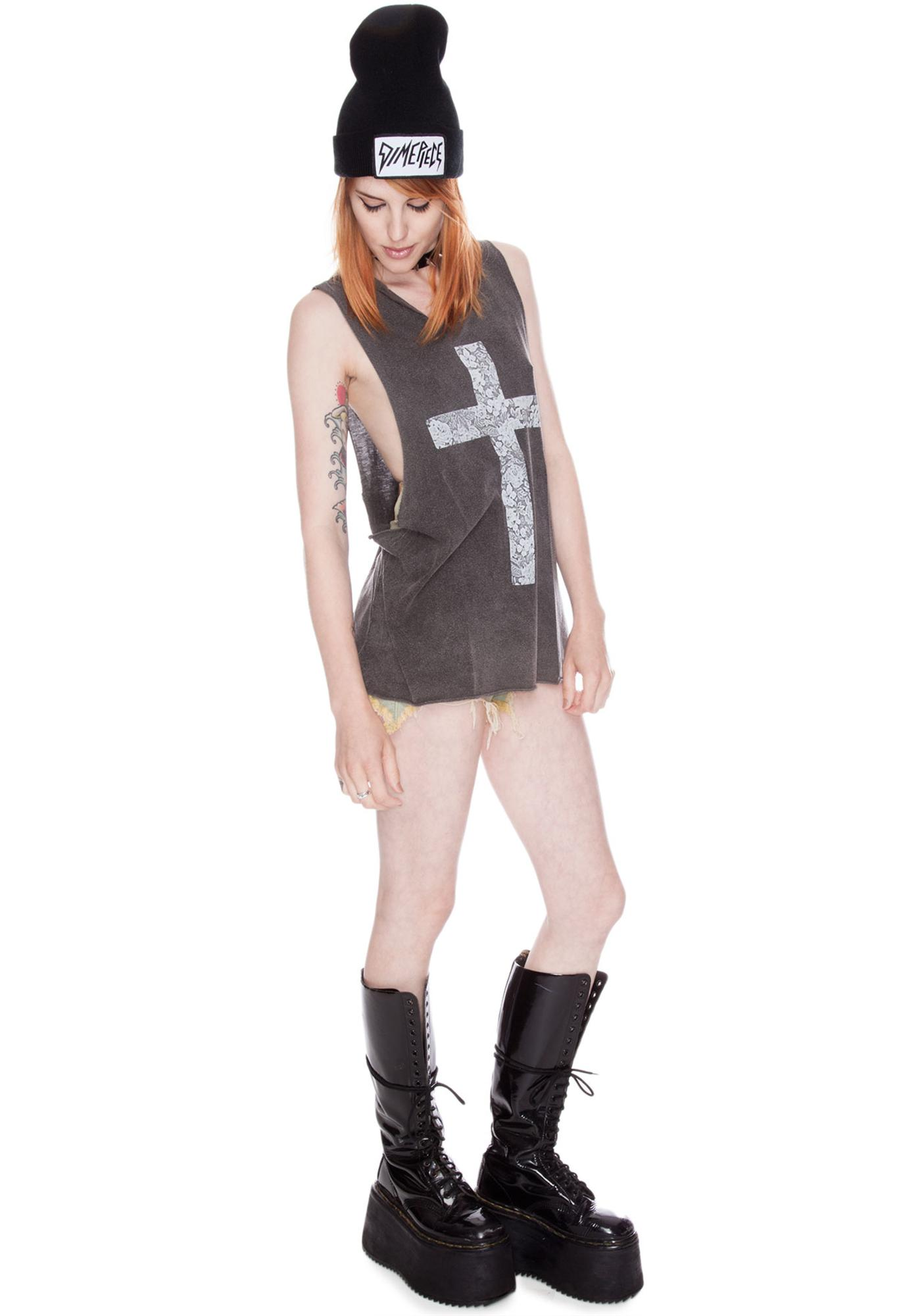 Kate Lace Cross Tank