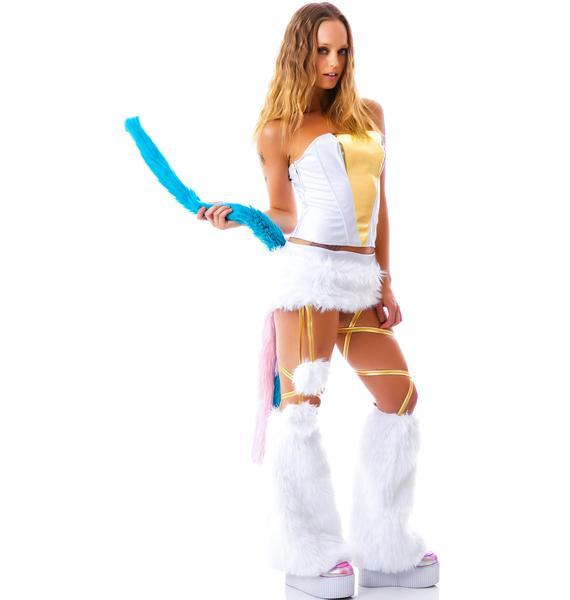 J Valentine My Little Unicorn Skirt Set