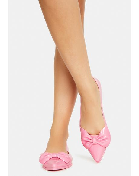 Candy Tustin Bow Flats