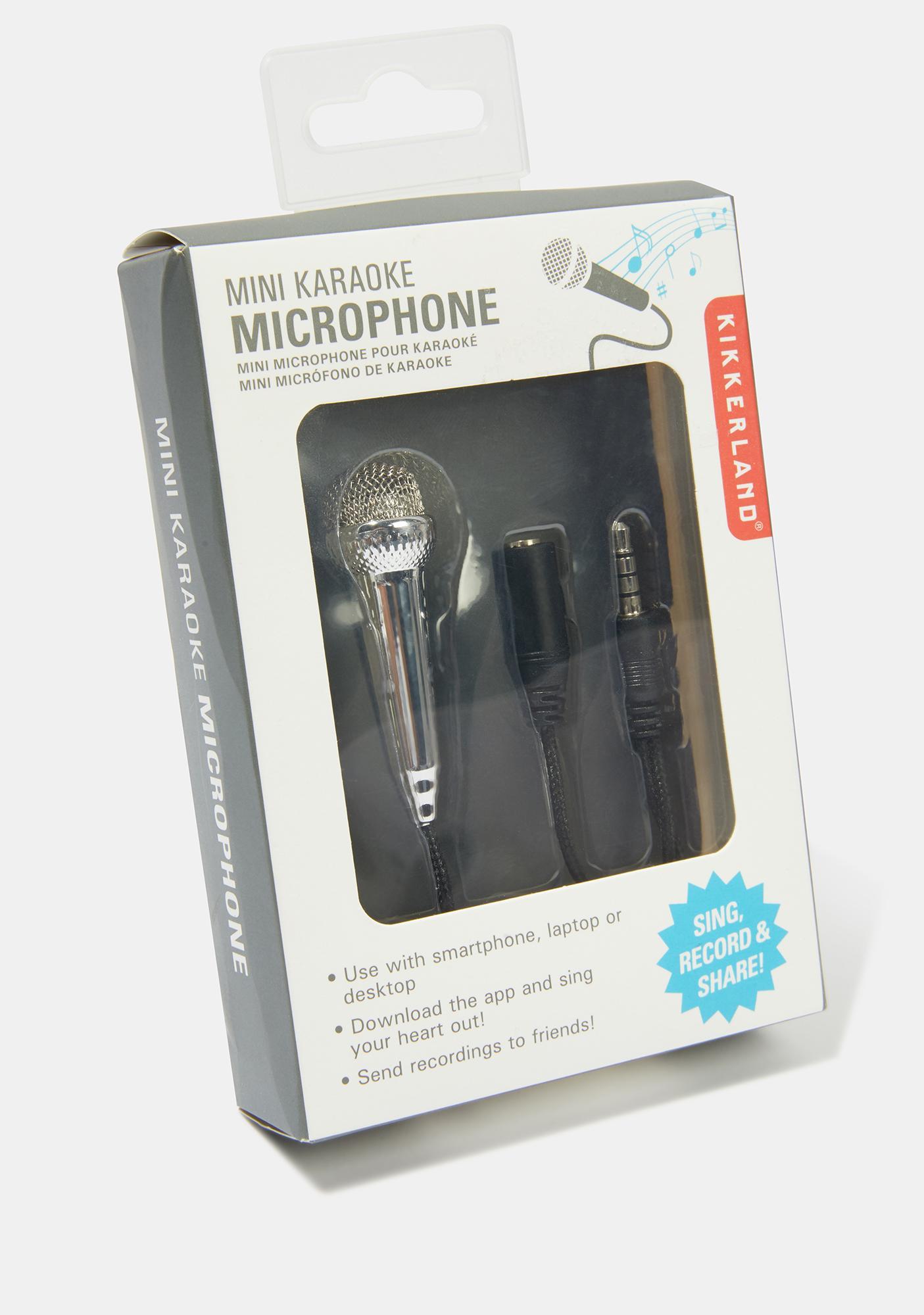 Scream N' Shout Mini Microphone
