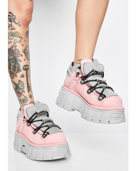 Nobukc Rosa Platform Sneakers