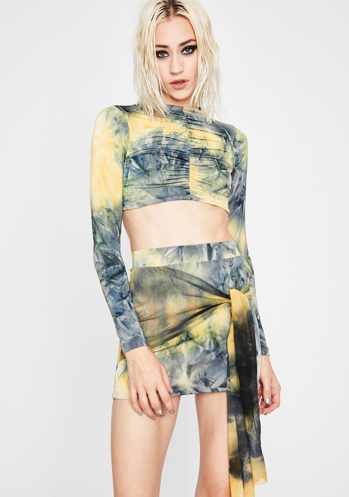 Sunny Lucid Eclipse Tie Dye Set by
