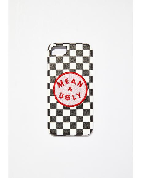 Mean & Ugly iPhone Case