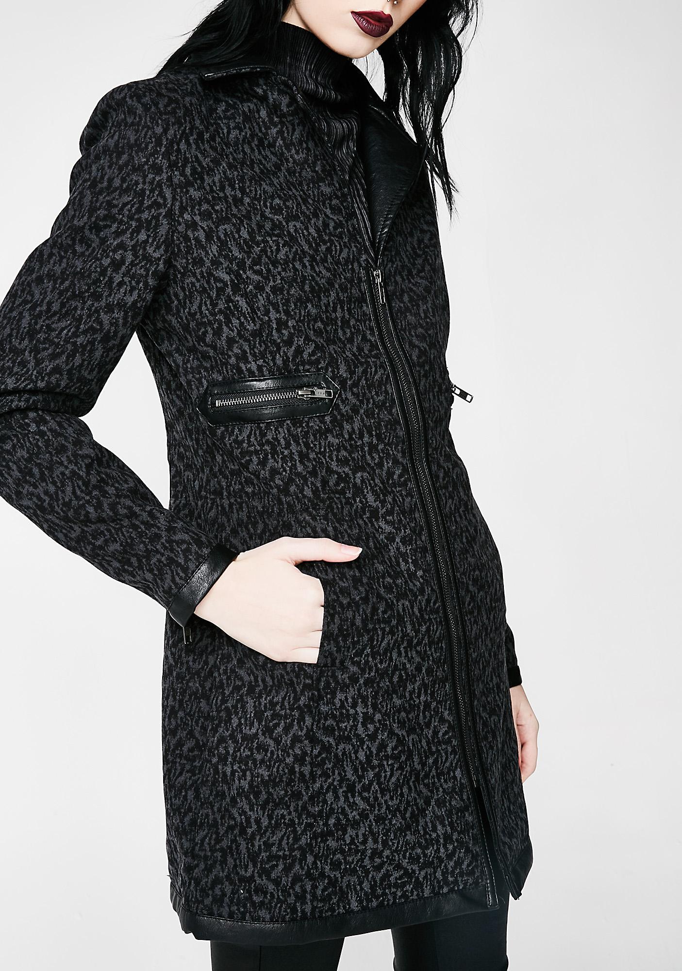 Disturbia Viv Teddy Girl Coat