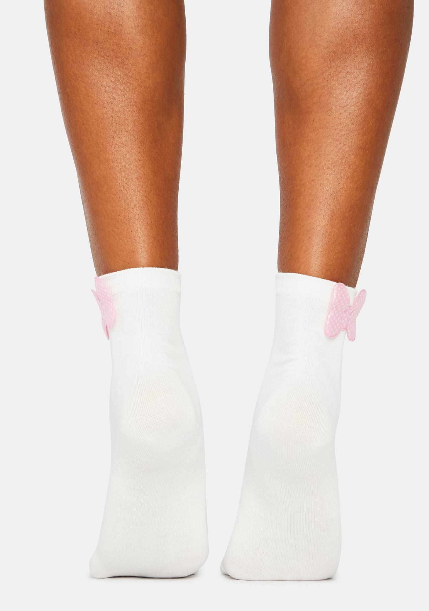 Bow Believable Crew Socks