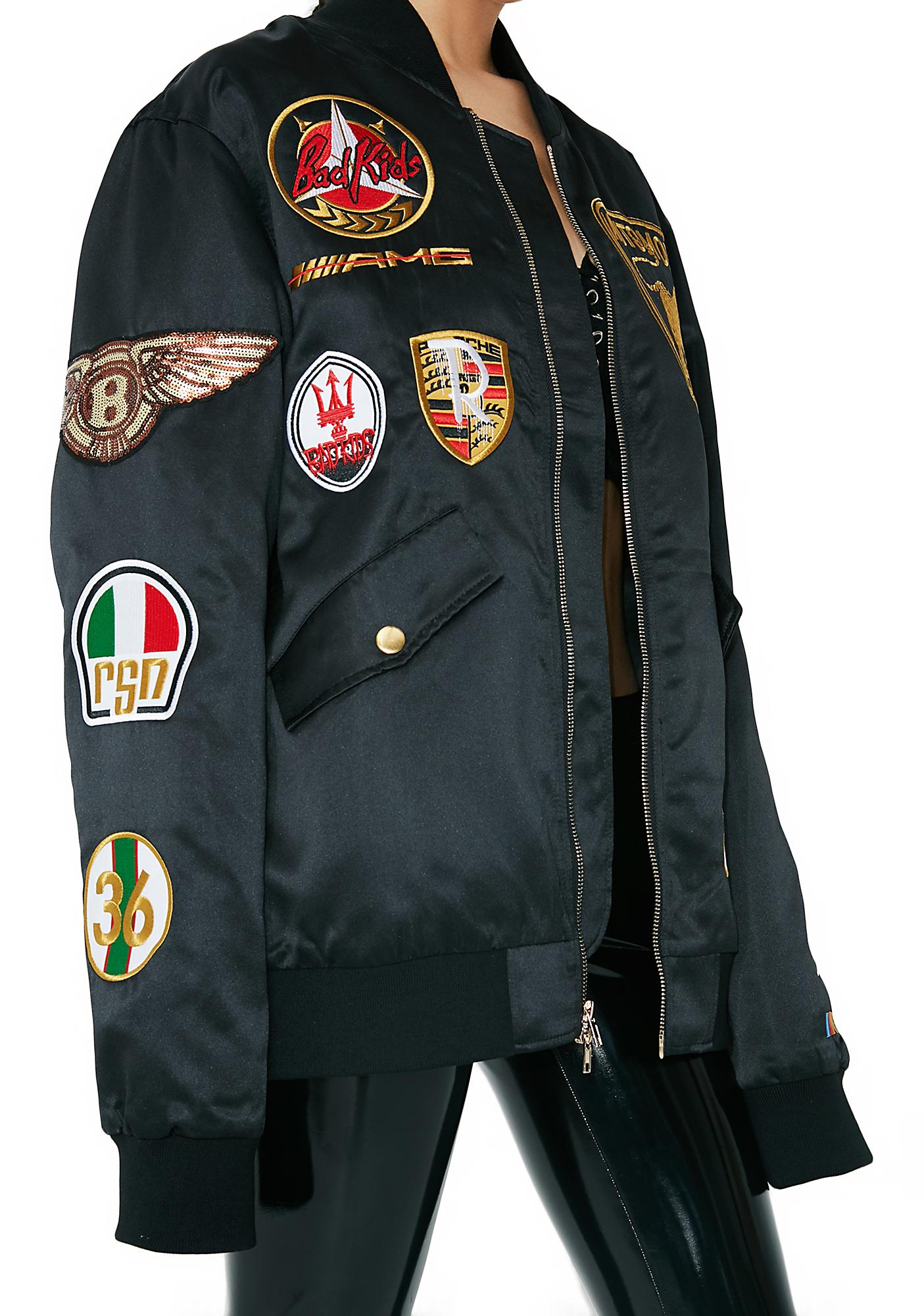 Reason Patch Racing Jacket