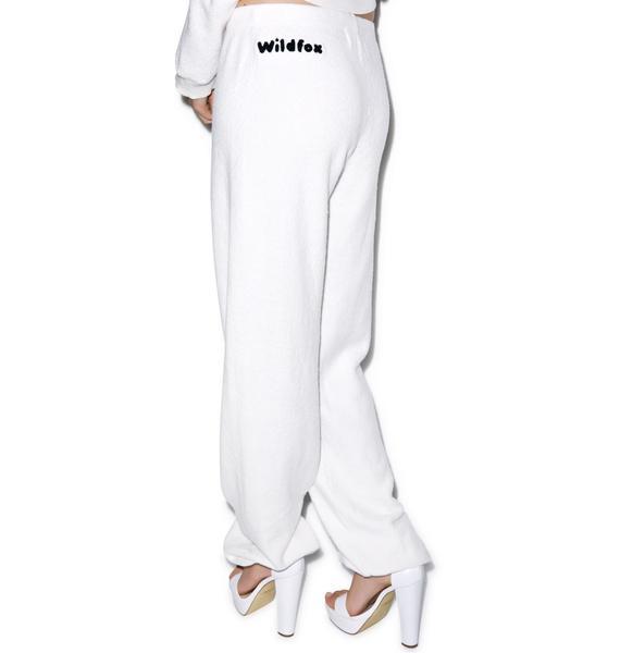 Wildfox Couture Chenille Wildfox P.E. Sweats