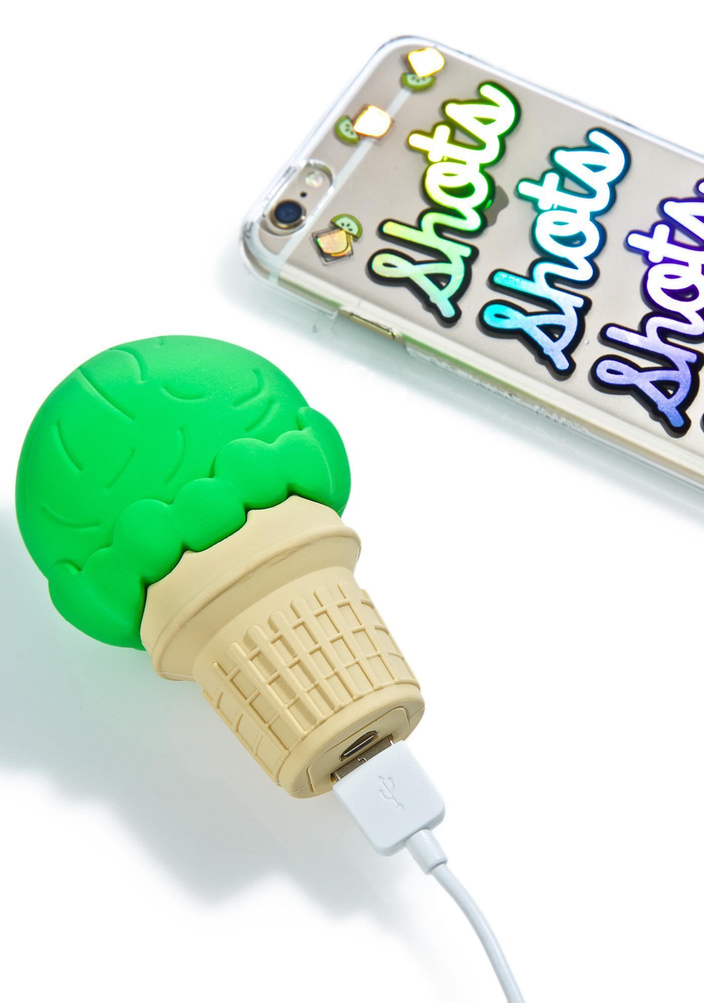 Wattzup Nice Cream Cone Power Bank