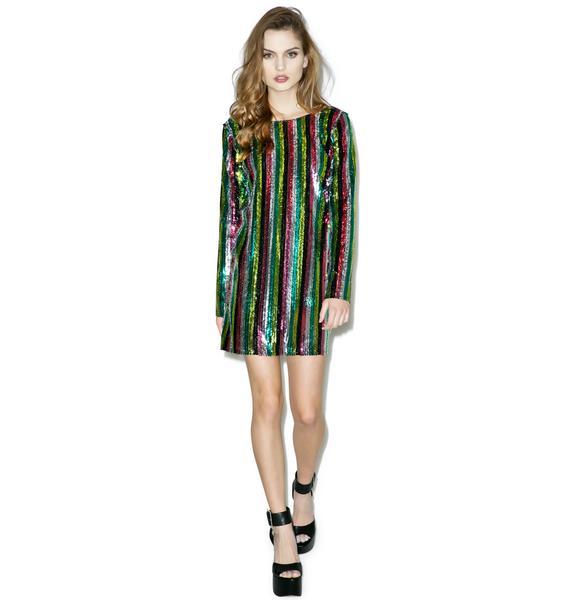 Dancehall Queen Sequin Dress