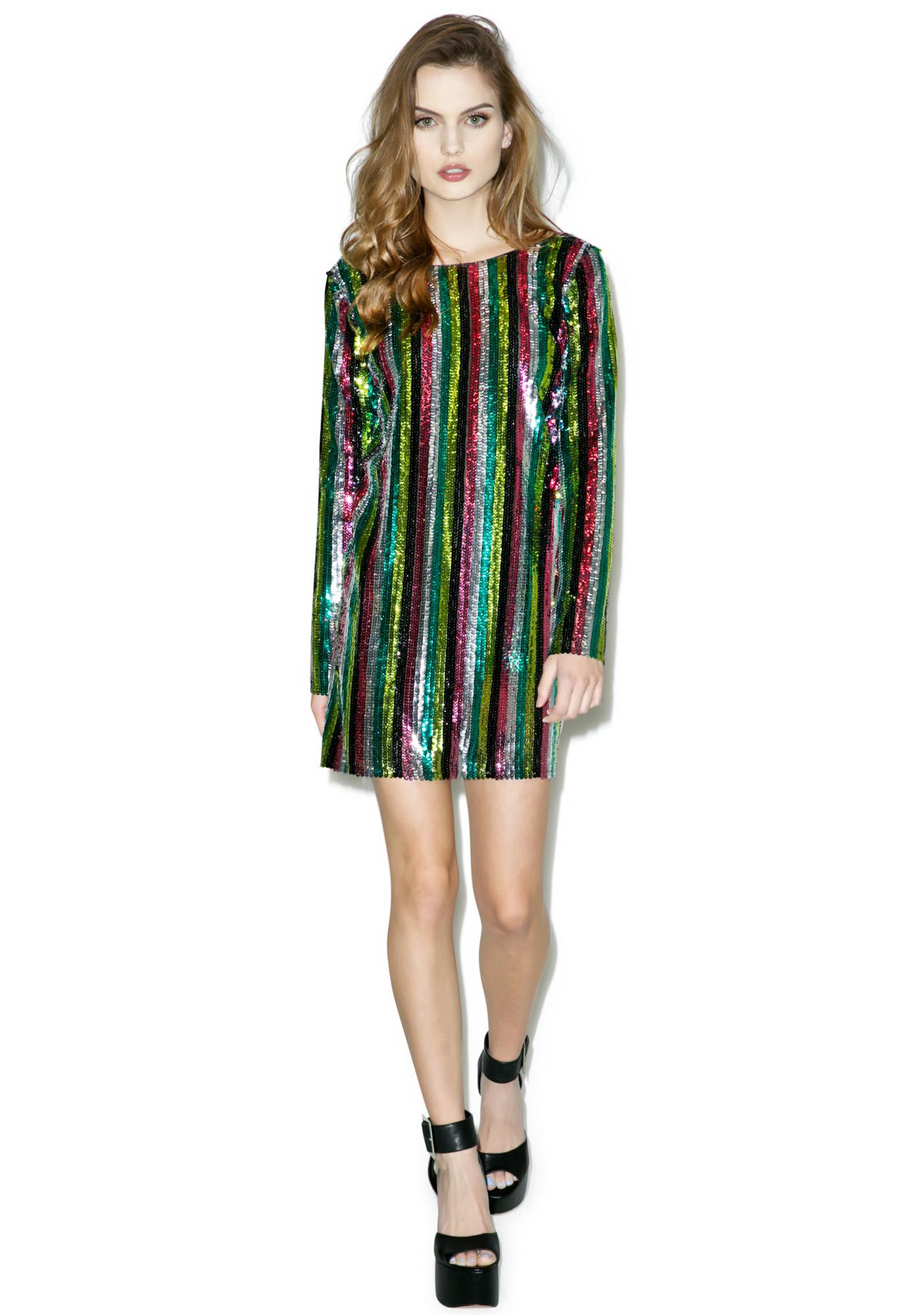 Dancehall Queen Sequin Dress