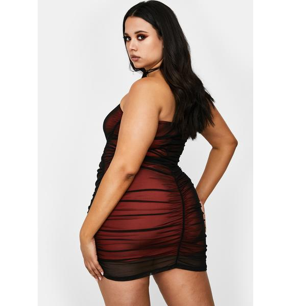 Poster Grl Bae Know My Worth Strapless Dress