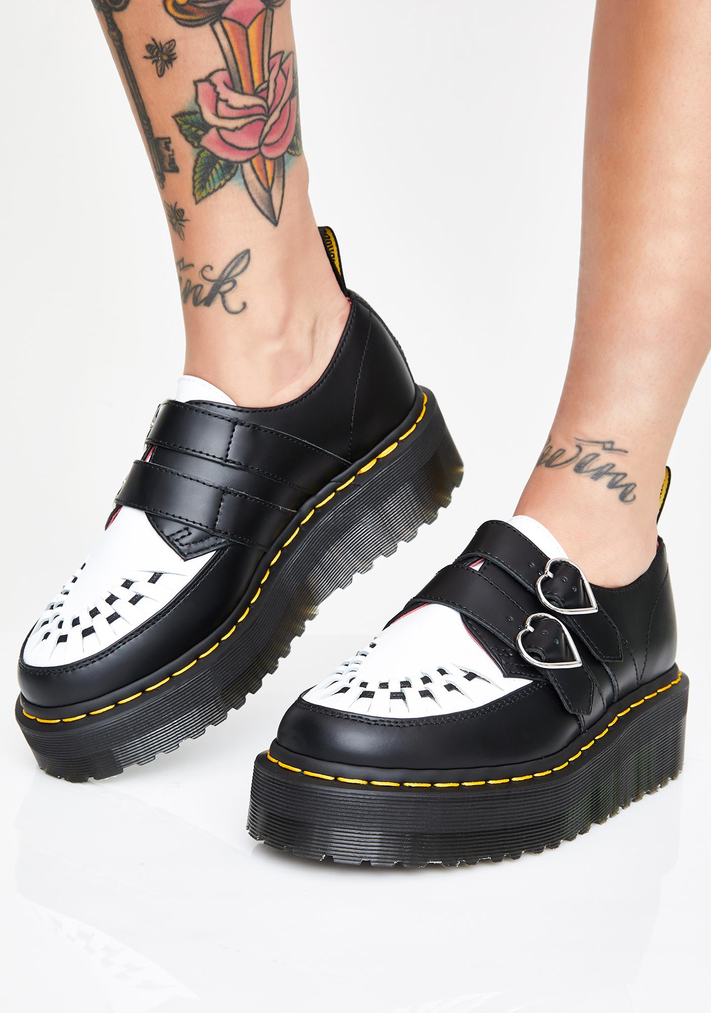 Dr. Martens X Lazy Oaf Low Buckle Creeper