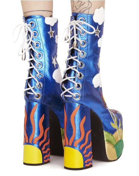 Landscape Platform Boots