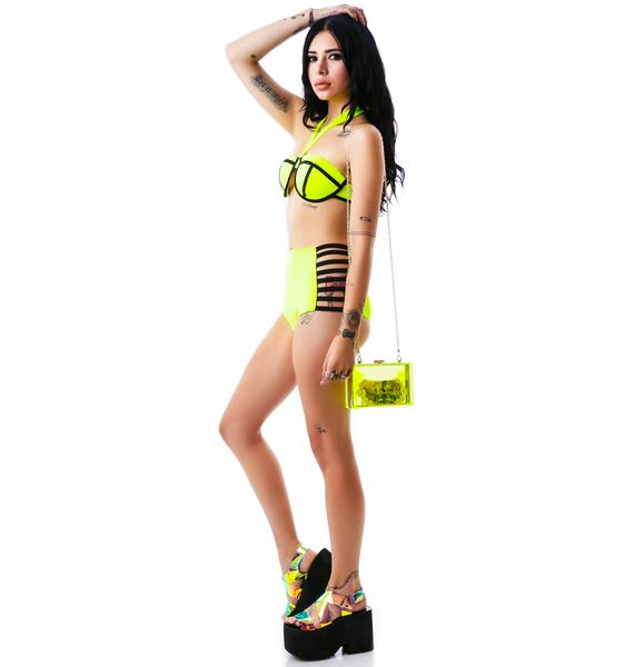 Neon Nights Colorblock Bikini