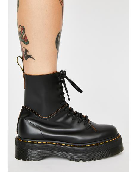 Jadon Decon Platform Boots