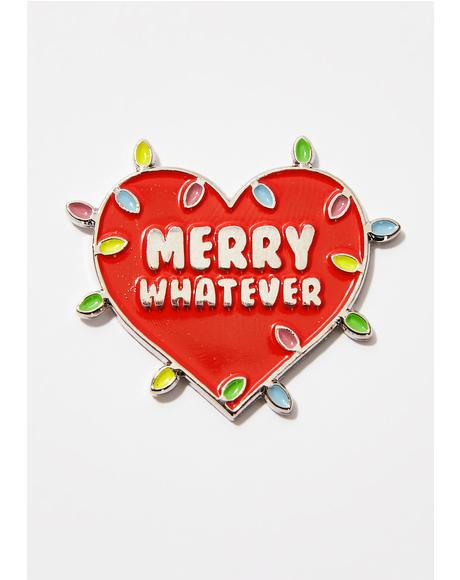 Holiday Lights Pin
