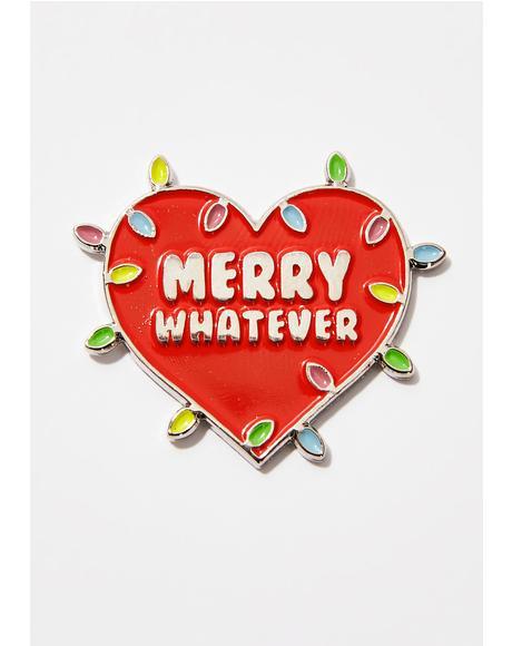 Holiday Lights Pin