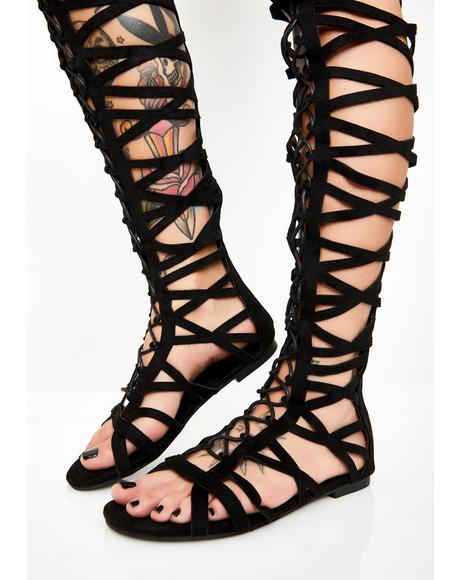 Sassy Slayer Gladiator Sandals