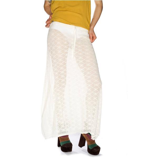 One Teaspoon Whisperer Crochet Skirt