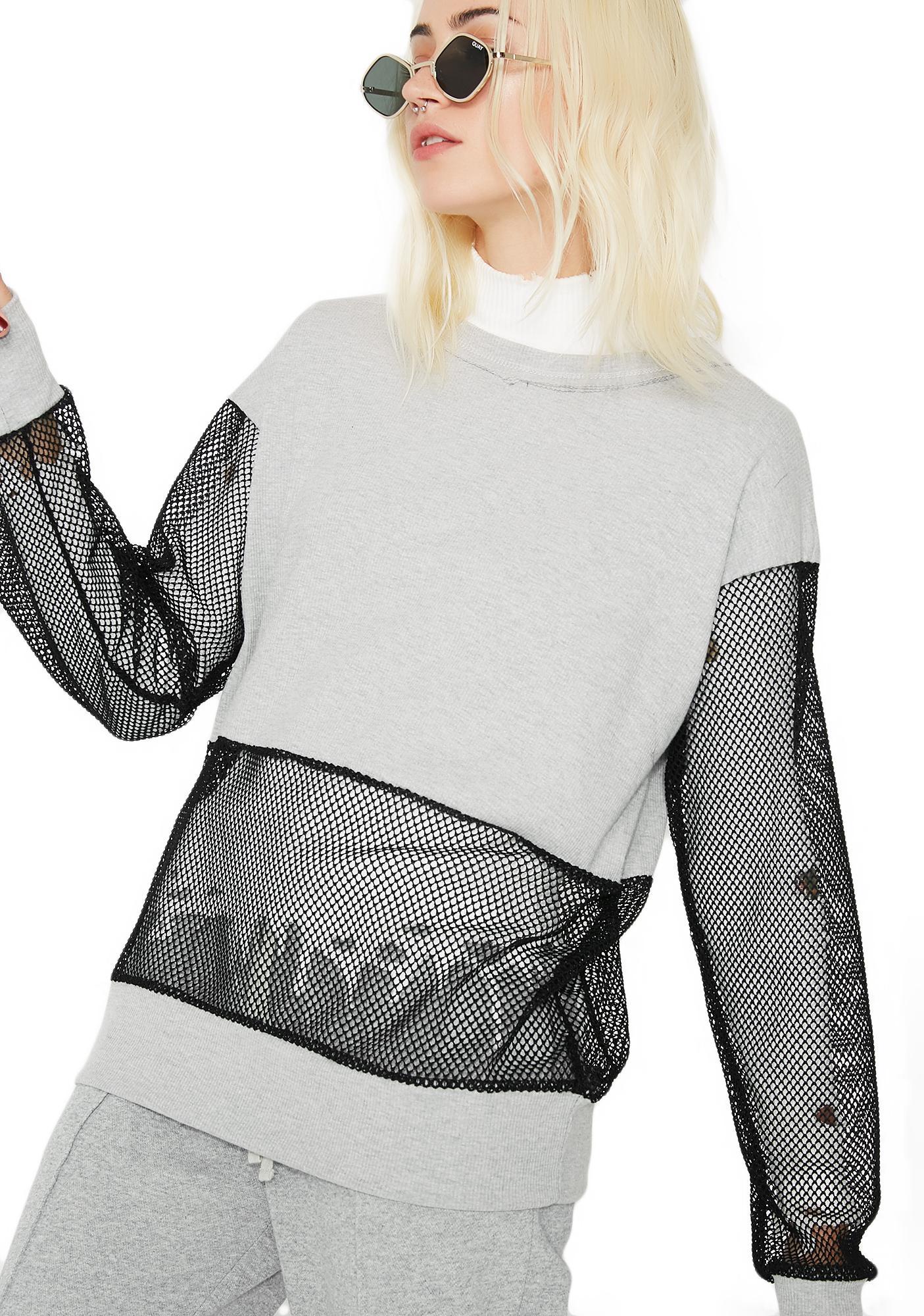 Half Bad Pullover Sweatshirt