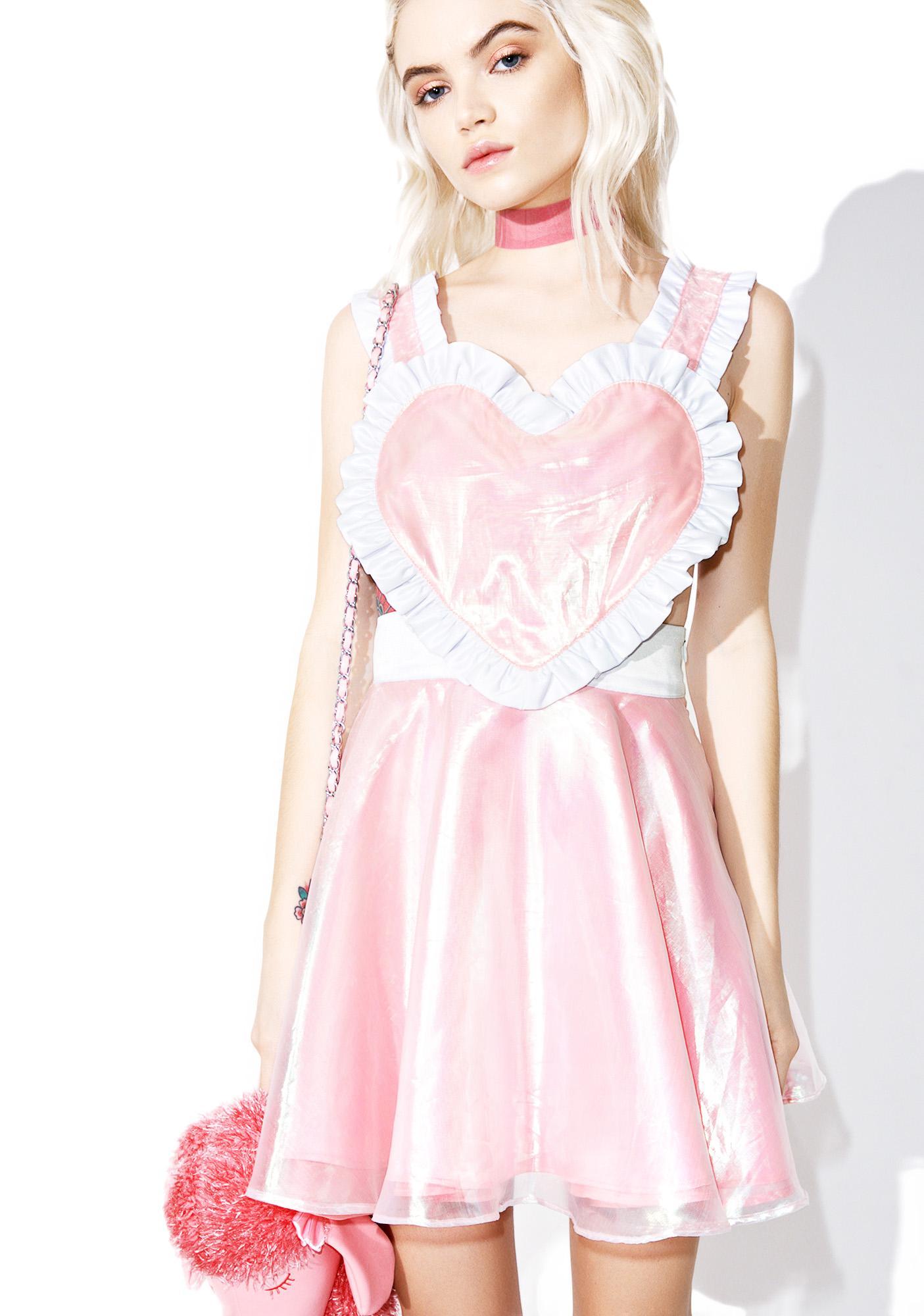 Chrissa Sparkles Be Still, My Heart Dress